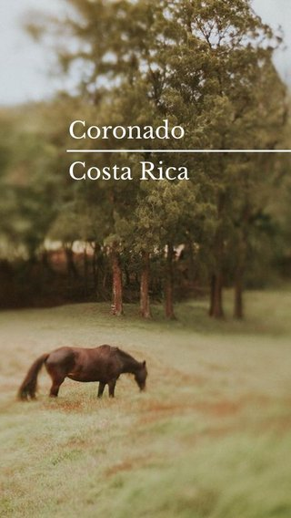 Coronado Costa Rica