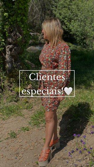 Clientes especiais!🤍