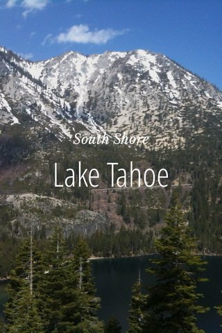 Lake Tahoe South Shore