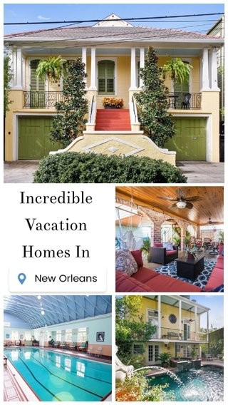 Incredible Vacation Homes In