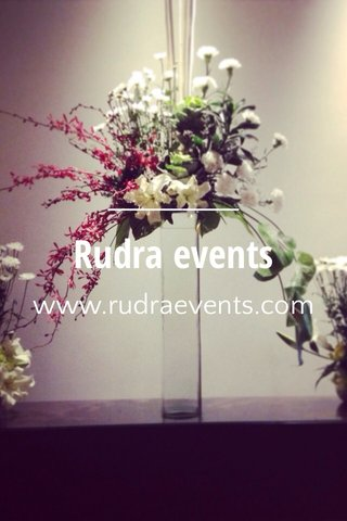 Rudra events www.rudraevents.com