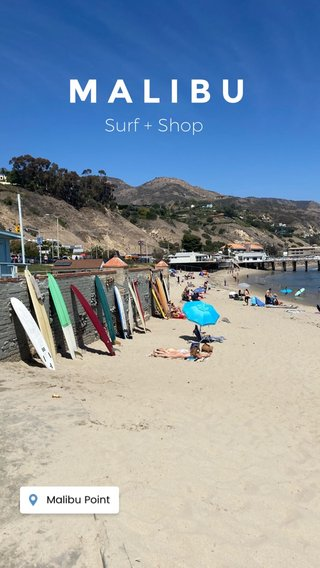 MALIBU Surf + Shop