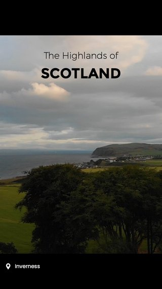 SCOTLAND The Highlands of