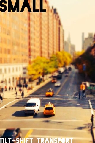 Small Tilt-shift transport