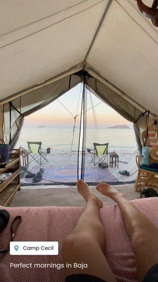 Perfect mornings in Baja