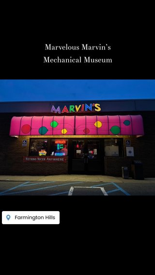 Marvelous Marvin's Mechanical Museum