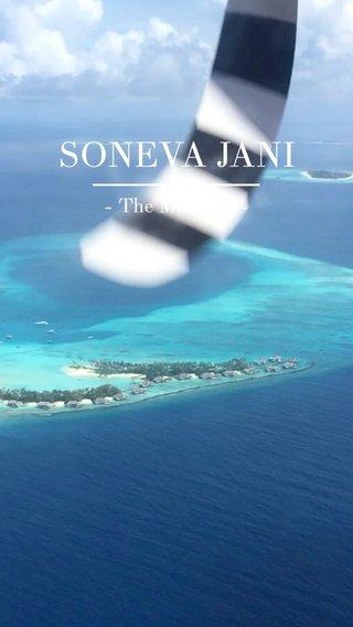 SONEVA JANI - The Maldives -
