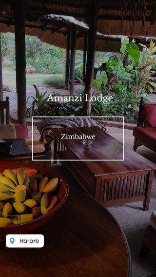 Amanzi Lodge Zimbabwe