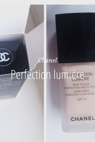 Perfection lumiére Chanel