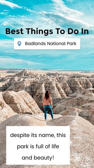 Best Things To Do In despite its name, this park is full of life and beauty!