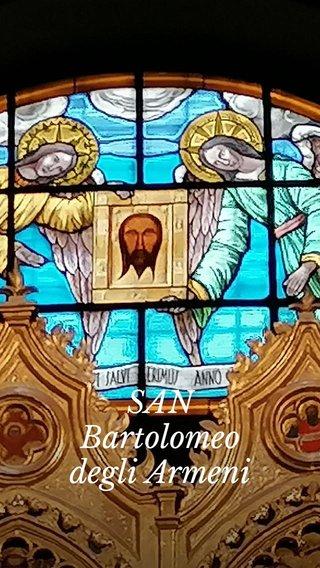 SAN Bartolomeo degli Armeni