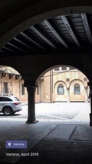 Verona, April 2019