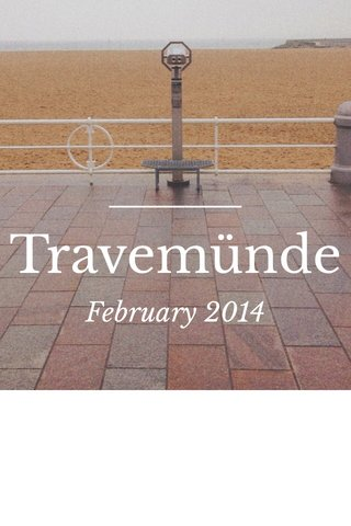 Travemünde February 2014