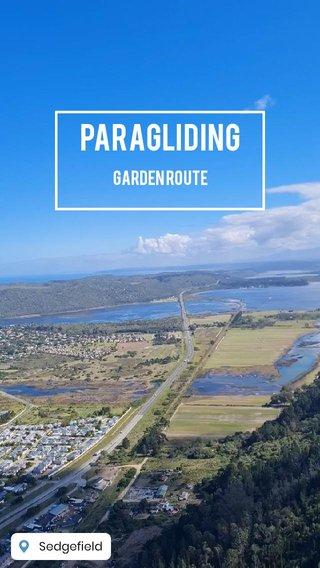 paragliding Garden Route
