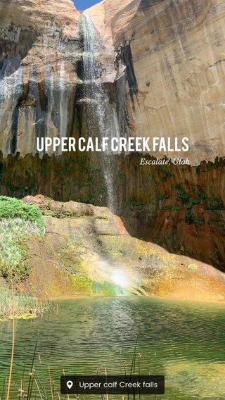 Upper Calf Creek Falls Escalate, Utah