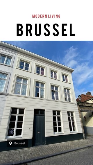 Brussel Modern living