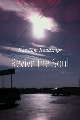 Revive the Soul Random Roadtrips