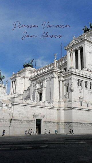 Piazza Venezia San Marco