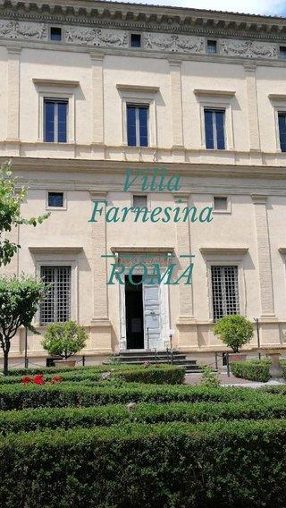 Villa Farnesina _____ ROMA
