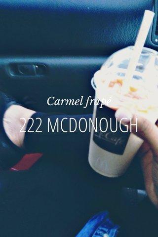 222 MCDONOUGH Carmel frapé