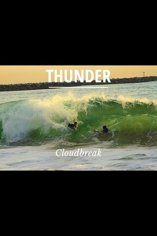 THUNDER Cloudbreak