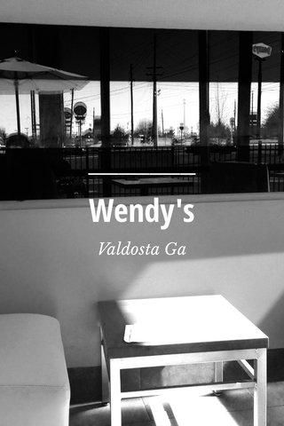 Wendy's Valdosta Ga
