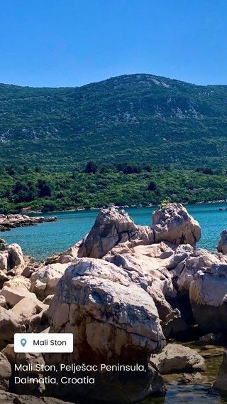Mali Ston, Pelješac Peninsula, Dalmatia, Croatia