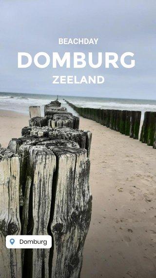 DOMBURG ZEELAND BEACHDAY