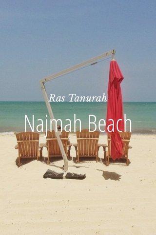 Najmah Beach Ras Tanurah