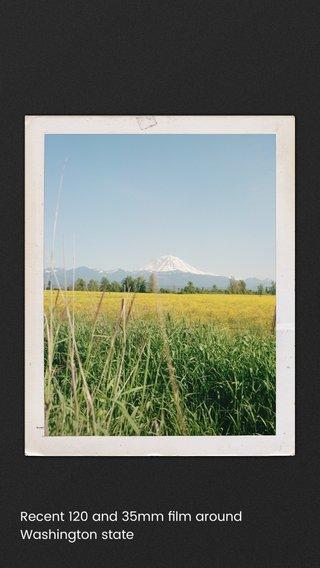 Recent 120 and 35mm film around Washington state