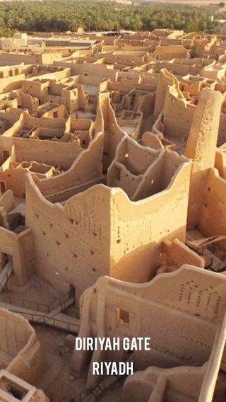 Diriyah Gate Riyadh