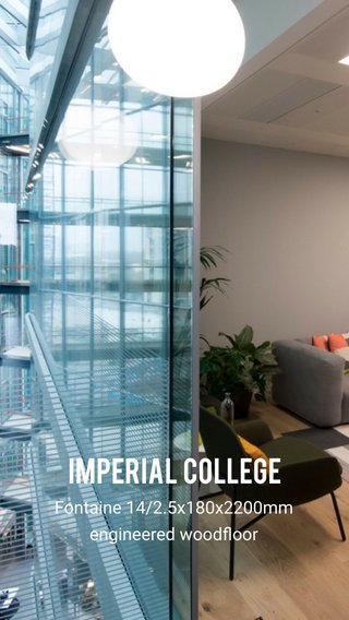 Imperial college Fontaine 14/2.5x180x2200mm engineered woodfloor