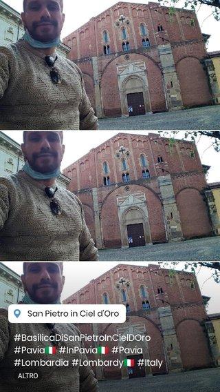#BasilicaDiSanPietroInCielDOro #Pavia🇮🇹 #InPavia🇮🇹 #Pavia #Lombardia #Lombardy🇮🇹 #Italy🇮🇹 #Italy #Italia #Italia🇮🇹 #LOVINGITALY #JoelSeInPavia #GiuseppeGuarinoInPavia #JoeleSepelInPavia #GuarinoGiuseppeInPavia #joelsepelinpavia #JOELSEPELINLOMBARDY #thegiftedtop #thesongwriter #24CMS #singer #GREATPERFORMER #dudewithabigcock #AnimalOfTheLiveShow #theworder #paroliere #dotatoxxl #crumblenotshowman #GiuseppeGuarino #GuarinoGiuseppe #JoeleSepel #joelsepel #joelse #js #GG #crumblenot #CN @joelsepel @joelesepelofficial https://www.pinterest.it/joelejoelsepel/ https://www.instagram.com/joelesepelofficial/?hl=it https://www.flickr.com/photos/146695172@N03/ https://www.flickr.com/people/188550413@N05 https://twitter.com/jsepel https://joele-sepel-joelse.tumblr.com/post/144224486168/joel-sepel https://www.youtube.com/channel/UCc4Ob0NeV8jxEntF_223uIw https://joelse-joelesepel.tumblr.com/ https://www.instagram.com/joelsepel/?hl=it https://www.pinterest.it/joelseJOELESEPEL/ https://twitter.com/joelsepeljoelse https://www.facebook.com/giuseppe.guarino.3388 https://www.flickr.com/photos/185144450@N06/ https://www.youtube.com/channel/UCeJ24_d5RiuspckFLF5fFMQ https://www.flickr.com/photos/185462329@N06/ https://www.youtube.com/channel/UCyyXs200AqboUPaVvmaWM0A https://www.facebook.com/JoeleSepel https://joelesepel.tumblr.com/ https://www.youtube.com/channel/UCekEi7oWhvHy0sldO_-Fruw