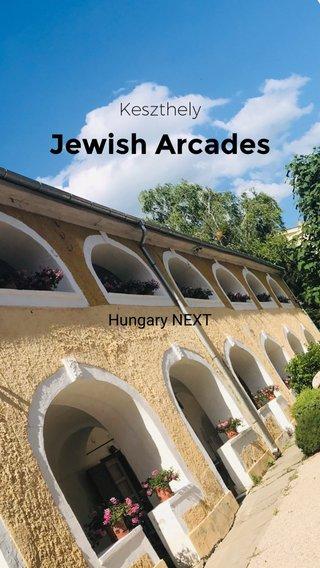 Jewish Arcades Keszthely Hungary NEXT