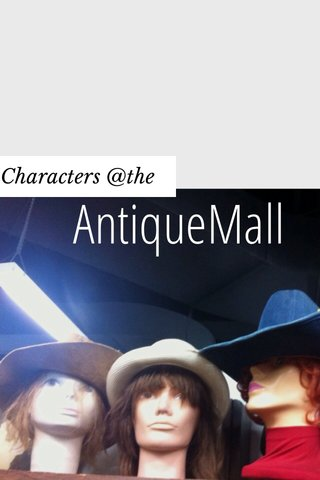 AntiqueMall Characters @the
