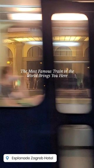 The Most Famous Train in the World Brings You Here