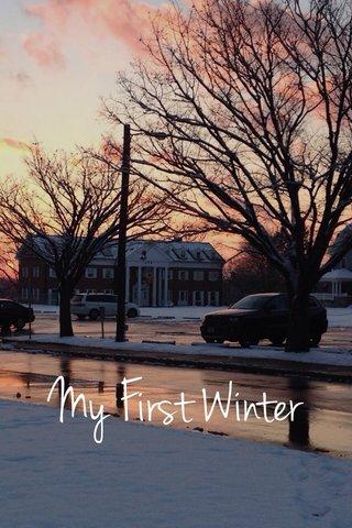 My First Winter