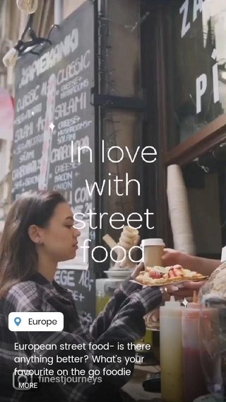 European street food- is there anything better? What's your favourite on the go foodie experience? #Europeanfood #Foodie #DiscoverEurope #Customisedtours