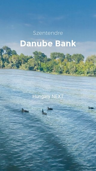 Danube Bank Szentendre Hungary NEXT