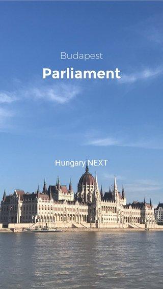Parliament Budapest Hungary NEXT