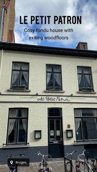 Le petit patron Cosy fondu house with exiting woodfloors