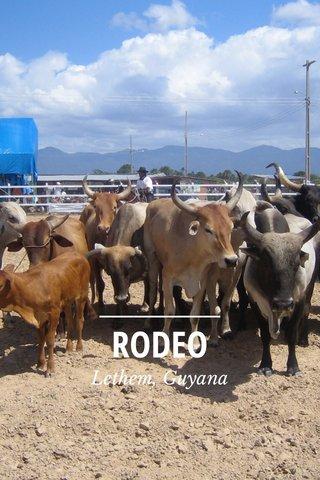 RODEO Lethem, Guyana