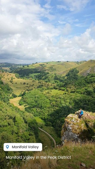 Manifold Valley in the Peak District
