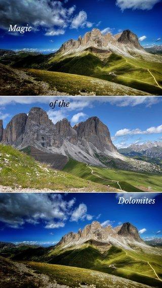 Dolomites Magic of the