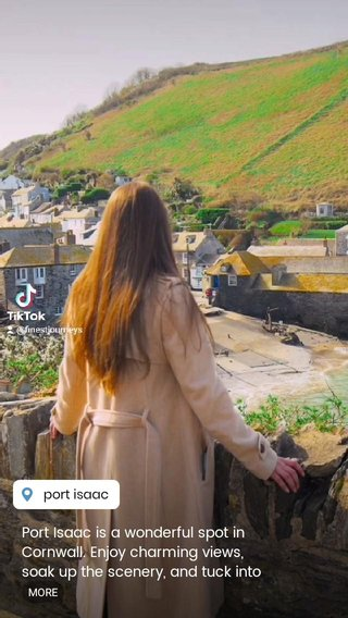 Port Isaac is a wonderful spot in Cornwall. Enjoy charming views, soak up the scenery, and tuck into great seafood #cornwall #portisaac #cornish