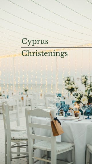 Cyprus Christenings