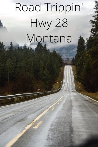 Road Trippin' Hwy 28 Montana