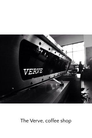 The Verve, coffee shop