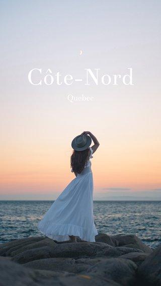 Côte-Nord Quebec