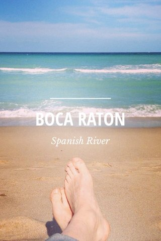 BOCA RATON Spanish River